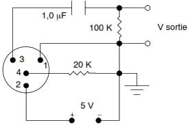 wb98h/c microphone standard test circuit